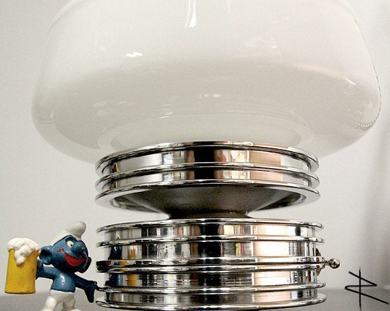 AViATION Modern Art SHROOM High Polished Accent Piston Lamp (3 RING)