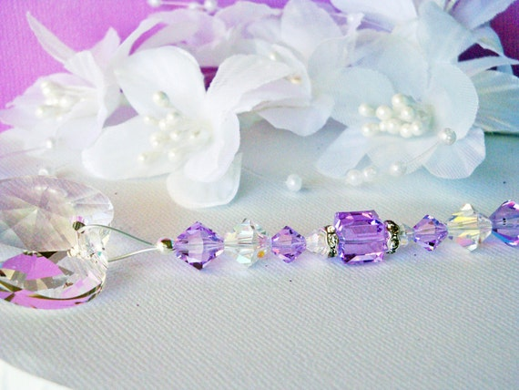 Crystal ceiling fan pull chain purple little girls room baby like this item aloadofball Choice Image