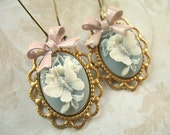 Madame Butterfly Cameo Earrings EC03