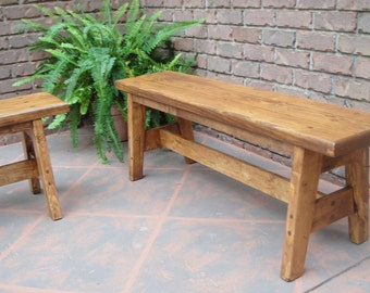 Bench Pine 45 Inch GST Style