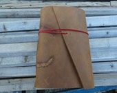 Handmade Leather Journal with Brand and Character Scarring FREE Personalization