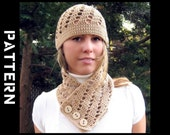 Diah Hat and Scarf Crochet Pattern