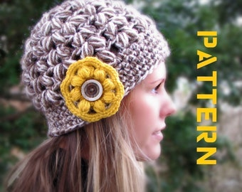 Olathe Crocheted Hat Crochet Pattern