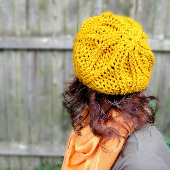 Mindy Beret Crochet Pattern