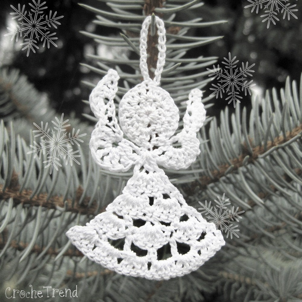 Free Crochet Pattern For Tiny Angels : FREE CROCHET PATTERN Little Angel Christmas Ornament