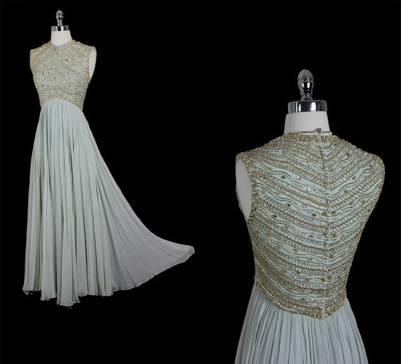 Reserved vintage 50s 60s mid century glamour goddess silk for Vintage wedding dress 60s