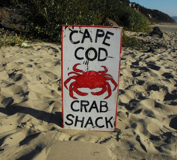 SALEVintage-Inspired CAPE COD CRAB SHACK Sign