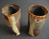 Handmade Ceramic tumblers, Cup or Vase