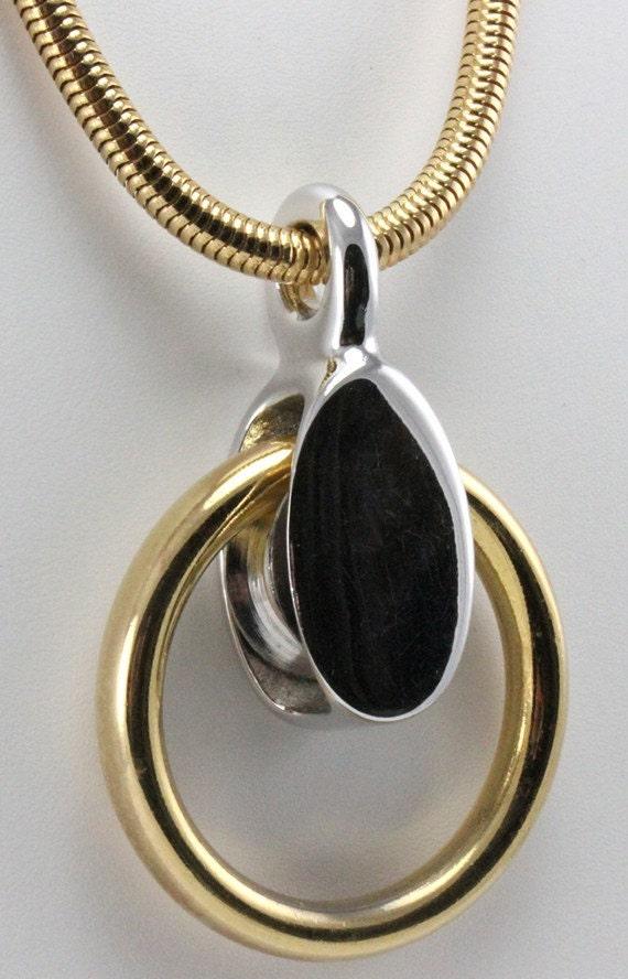 christian dior vintage necklace germany 1971 modernist