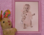 Reserved Vintage Cute Toity Girl Litho Print WITHOUT FRAME