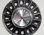1968 Ford Mustang Hubcap Clock - Muscle Car Wall Clock