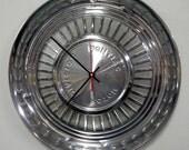 1959 Pontiac Catalina / Bonneville / Star Chief Hubcap Wall Clock - Retro Car Clock