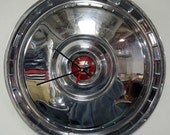 1955 - 1956 Ford Thunderbird and Fairlane Hubcap Clock