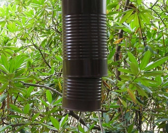 Brown Recycled Windchimes - Can and Screwdriver Wind Chimes - Mens Gift - Father's Day Gift