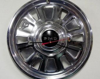Pontiac Clock - 1967 Pontiac Hub Cap - GTO Tempest LeMans Hubcap