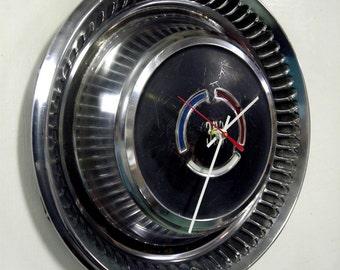 1969 Chrysler 300 Hubcap Clock - Classic Car Hub Cap Wall Clock
