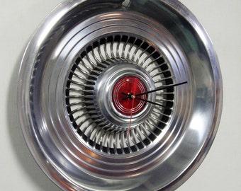 1976 - 1977 Ford Maverick and Mercury Comet Hubcap Wall Clock