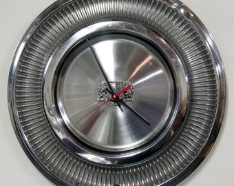1972 - 1978 Chrysler New Yorker Hubcap Clock - NYer Wall Clock - 1973 1974 1975 1976 1977