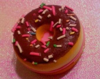 Squishy Rainbow Sprinkle Doughnut Compact