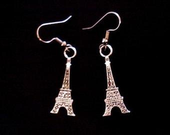 Eiffel Tower Earrings - SALE