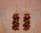 Autumn Secrets Chainmail Earrings