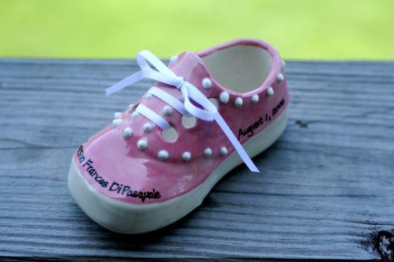 Ceramic Baby Shoe Keepsake