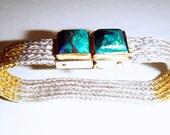 Handwoven Fine Silver Mesh Bracelet