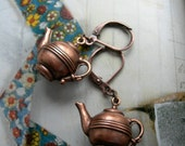 Alice's Tea Pot Earrings
