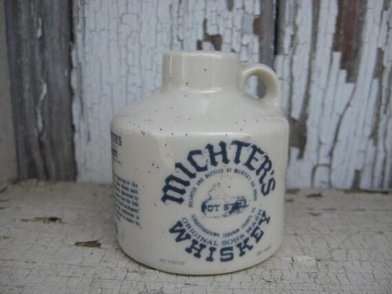 Vintage miniature MICHTERS WHISKEY JUG Schafferstown Pennsylvania Lebanon County