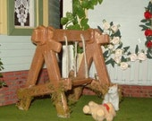 Child's Outdoor Swing Set