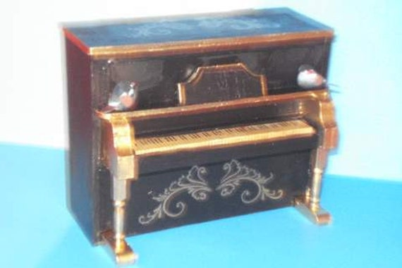 Upright Scale Miniature Piano