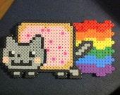 Nyan Cat Perler Beads