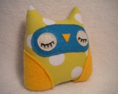 Plush Little Hoot Owl (Shirley)