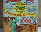 Vintage Sears Roebuck and Company Fall 1900 Reproduction Catalog Book