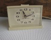 Vintage Mid Century Snooze Snooz Alarm Clock General Electric