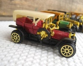 Vintage Classic Old Fashioned Car Collection Diecast made in Macau Father's Day Gift for Dad
