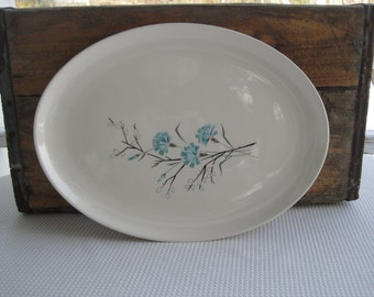 Vintage Buttons and Beaux Harmony House Oval Serving Platter
