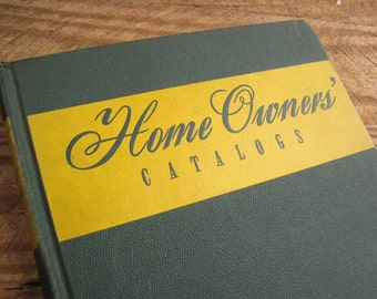 Vintage 1945 Home Owners Catalogs