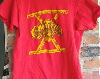Vintage Commodores 1980 Heroes Concert Tour Tee Shirt