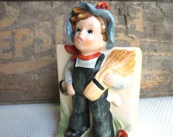 Vintage Bavarian Boy Hummel Style Planter Price Import Japan