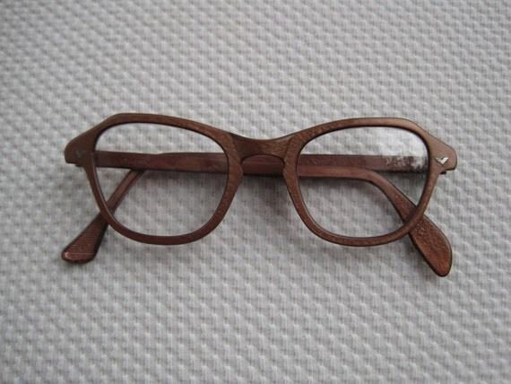 vintage colored cat eye craft eyeglass frames