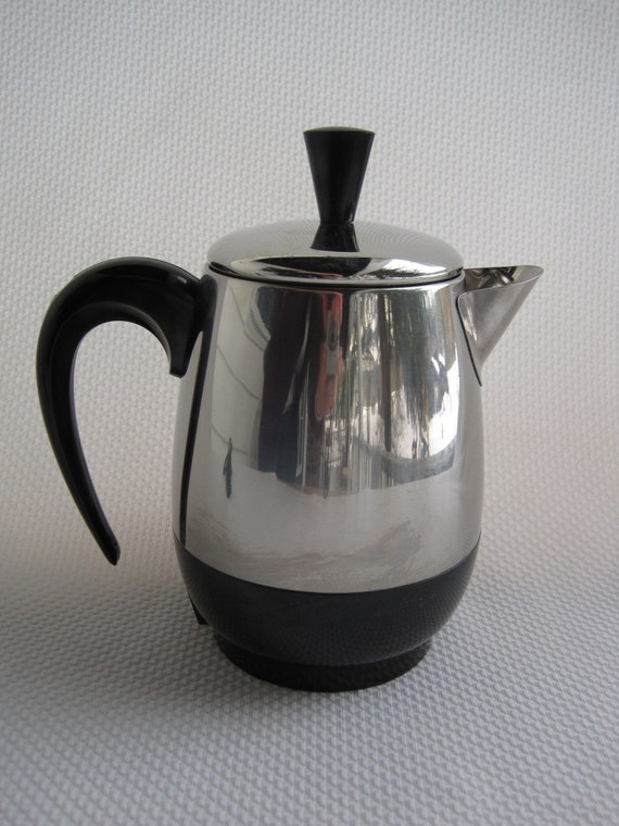 Vintage Farberware Superfast Electric Coffee Pot Percolator