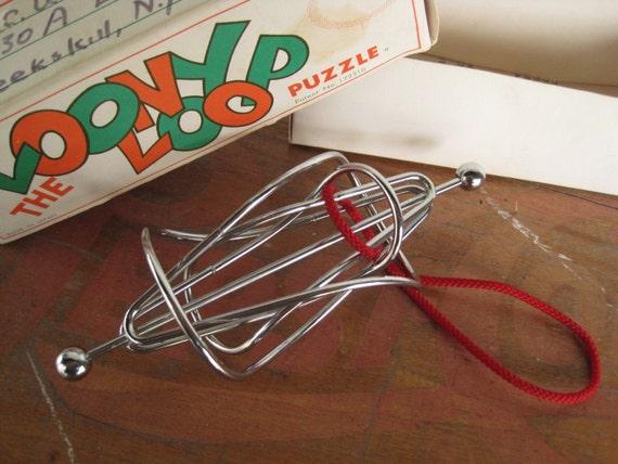 Vintage Loony Loop Puzzle