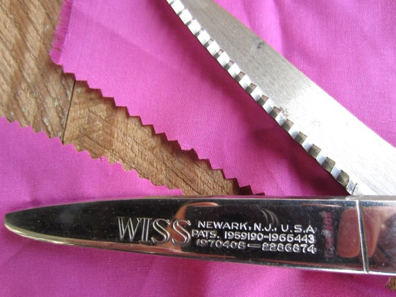 Vintage 1940s Wiss Model C Pinking Shears
