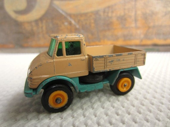 Vintage Lesney Matchbox Unimog Truck Made in England Fathers Day Toys for Dad