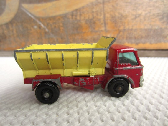 Vintage Lesney Matchbox Grit Spreading Truck Made in England Fathers Day Toys for Dad