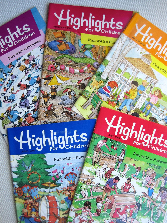 Highlights Magazine Crafts
