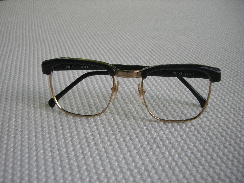 Vintage G-Man Italian Eyeglass Frames