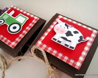 Farm Animals Lollipop Party Favors, Set of Ten