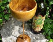 Hand Turned Mesquite Wood Goblet
